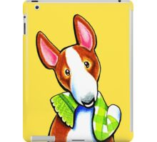 Red Bull Terrier Lets Play iPad Case/Skin