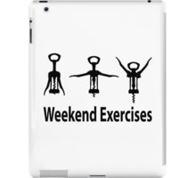 Weekend exercises iPad Case/Skin