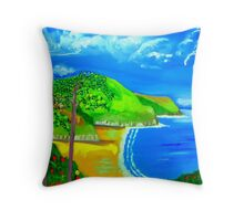 Caswell Blues Throw Pillow