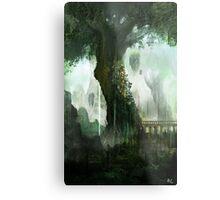 Elven Tree Metal Print