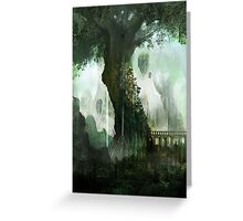 Elven Tree Greeting Card