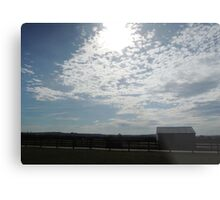 The Stable and The Sky Metal Print