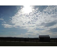 The Stable and The Sky Photographic Print