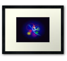 Space Is Born Framed Print