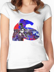 The Captain is Back Women's Fitted Scoop T-Shirt