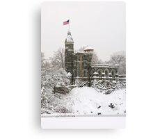 Belvedere Castle Canvas Print