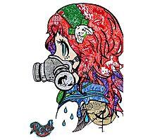 Steam Punk doodle Photographic Print