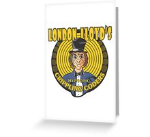 LONDON LLOYD'S Greeting Card