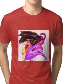 Flowers Edge Tri-blend T-Shirt