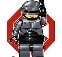 LegoCop by juanotron
