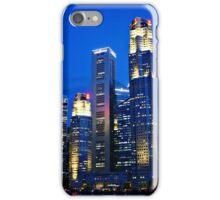 Urban Landscape Singapore, Colour iPhone Case/Skin