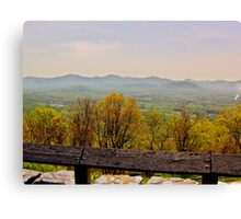 Blueridge View Canvas Print