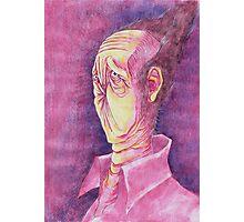 Portrait of The Anus Man Photographic Print