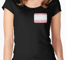 This IS My Real Name (Transfemale Pink) Women's Fitted Scoop T-Shirt
