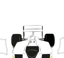 McLaren MP4 Sticker