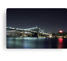 Nighttime Cityscape Canvas Print