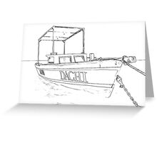 Fishing Boat of the Caribbean II Greeting Card