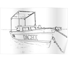 Fishing Boat of the Caribbean II Poster
