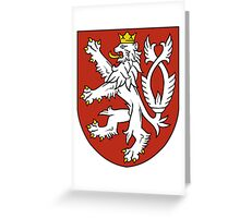 Bohemia Coat of Arms  Greeting Card