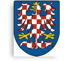 Moravia Coat of Arms Canvas Print