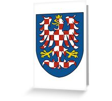Moravia Coat of Arms Greeting Card