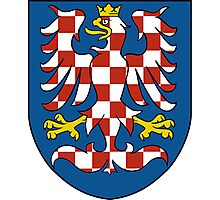 Moravia Coat of Arms Photographic Print