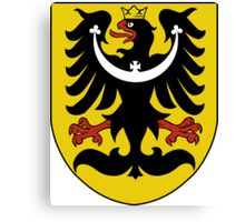 Silesia Coat of Arms  Canvas Print