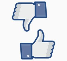 Facebook Like Thumbs Up ×2 by bookface