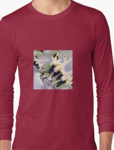 On Gossamer Wings the Faeries Fly Long Sleeve T-Shirt