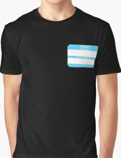 Hello, My PRONOUNS Are (Transmale Blue) Graphic T-Shirt
