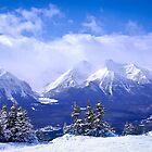 Rocky Mountains by Elena Elisseeva