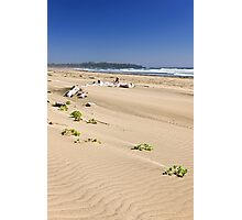 Sandy beach on Pacific ocean in Canada Photographic Print
