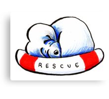 Maltese Rescue Canvas Print