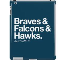 Loyal to Atlanta (White Print) iPad Case/Skin