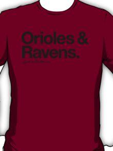 Loyal to Baltimore (Black Print) T-Shirt