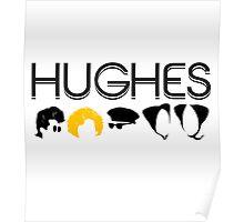 John Hughes Rules Poster