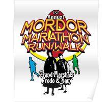 Mordor Marathon Poster