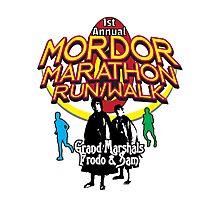 Mordor Marathon Photographic Print