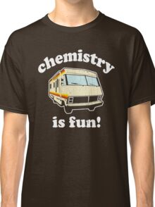 Funny - Chemistry Is Fun! (Br Ba) Distressed Vintage Design Classic T-Shirt
