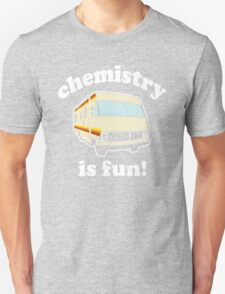 Funny - Chemistry Is Fun! (Br Ba) Distressed Vintage Design T-Shirt