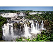 Iquazu Falls - South America Photographic Print