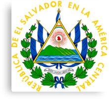 Coat of Arms of El Salvador  Canvas Print
