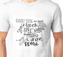 A Reader's Proverb Unisex T-Shirt