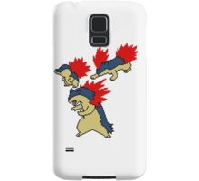 Cyndaquil, Quilava and Typhlosion Samsung Galaxy Case/Skin