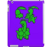 Grass Johto Starters Silohouettes iPad Case/Skin
