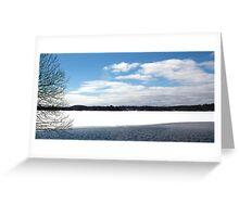 Ice & Sky Greeting Card