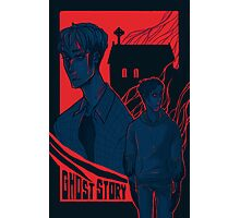 Attack on Titan AU - Ghost Story Photographic Print