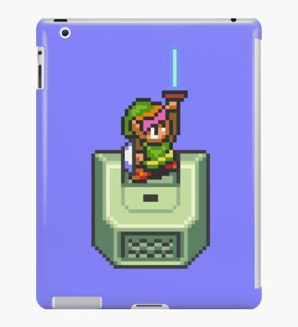 Link holding Master Sword iPad Case/Skin