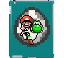 Mario & Yoshi Win Pose iPad Case/Skin