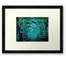 Glass Steps Framed Print